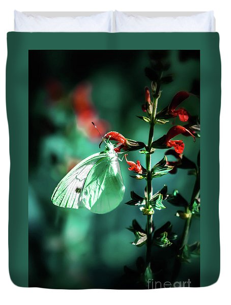 Moonlight Butterfly Duvet Cover