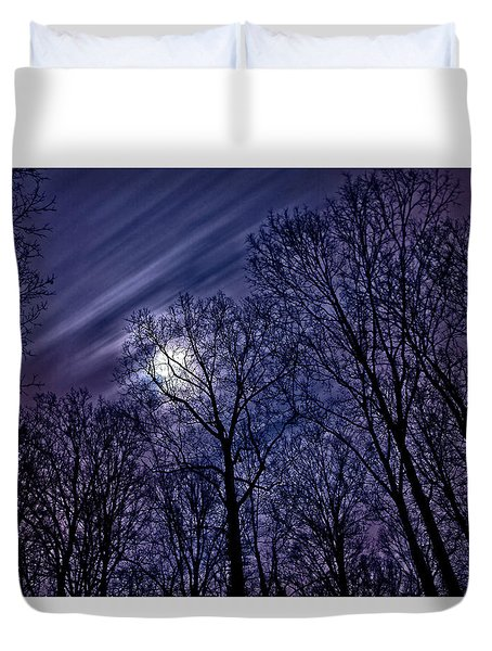 Moonlight Glow Duvet Cover