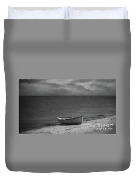 Moonlight Paddle Duvet Cover
