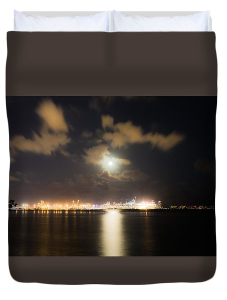 Moonlight Reflections Duvet Cover