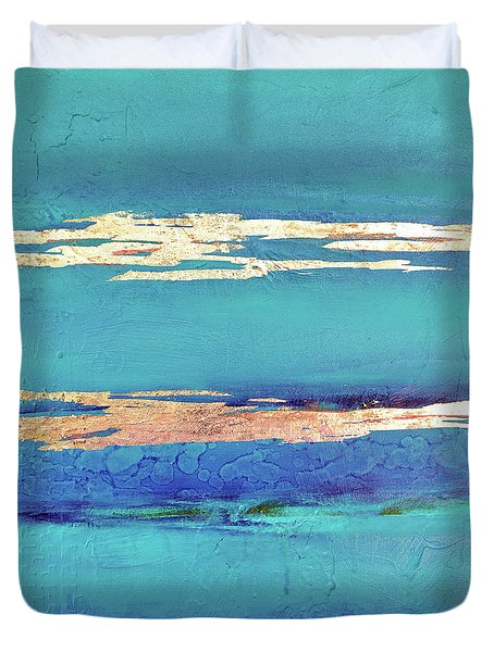 Moonlight Sea Duvet Cover by Filomena Booth