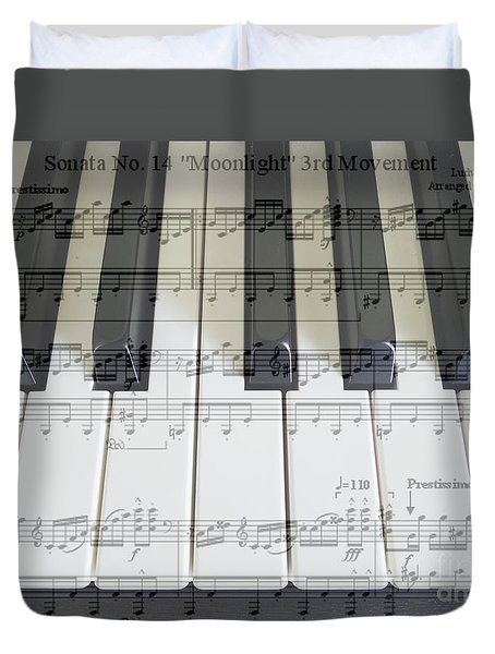 Moonlight Sonata 3rd Movement Duvet Cover