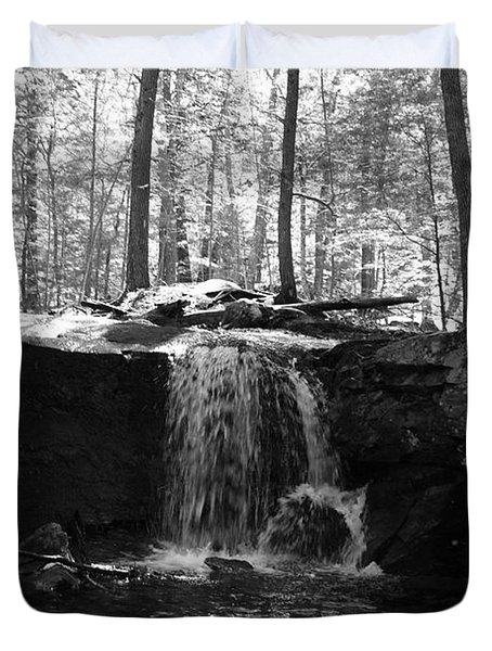 Moonlight Waterfall Duvet Cover