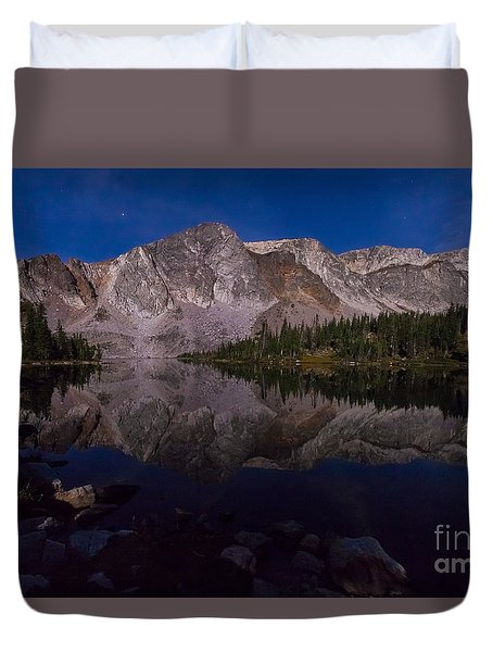 Moonlit Reflections  Duvet Cover
