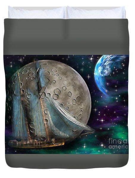 Moonlit Sail 2015 Duvet Cover