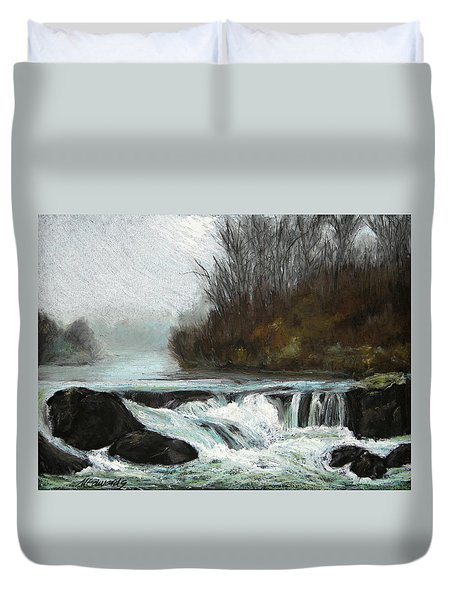 Moonlit Serenity Duvet Cover by Marna Edwards Flavell