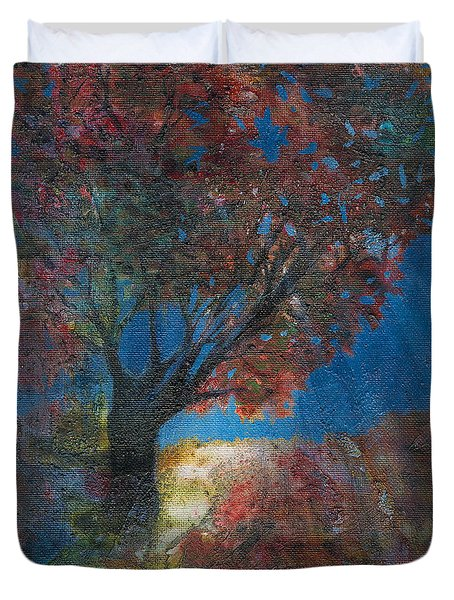 Moonlit Tree Duvet Cover