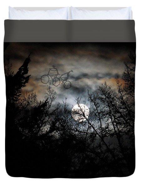 Moonlite Ride Duvet Cover