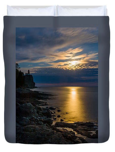 Moonrise From The Cloudbank Duvet Cover