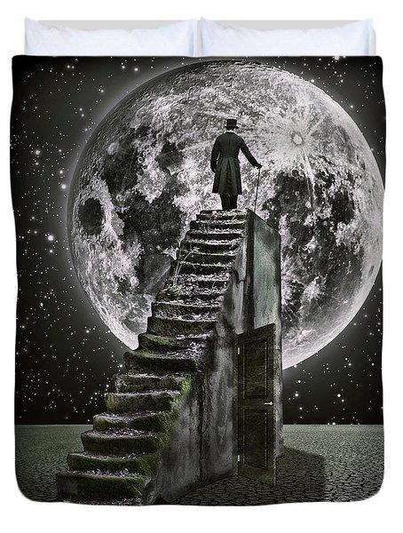 Moonrise Duvet Cover by Mihaela Pater