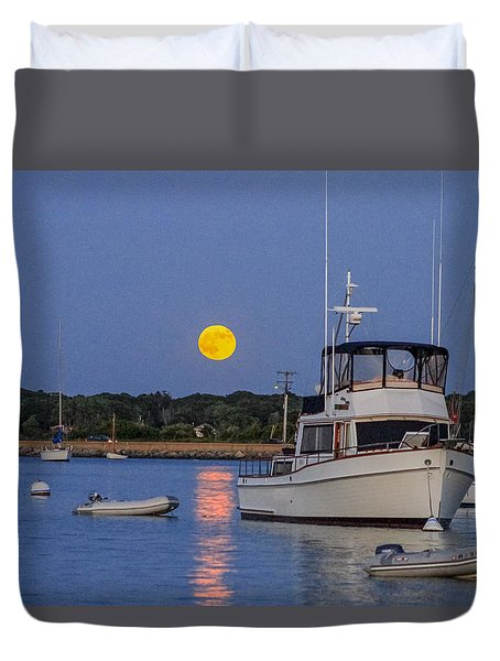 Moonrise Vineyard Haven Duvet Cover