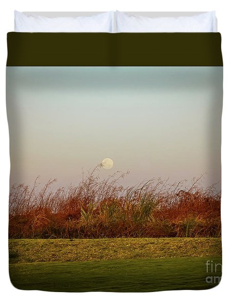 Moonscape Evening Shades Duvet Cover