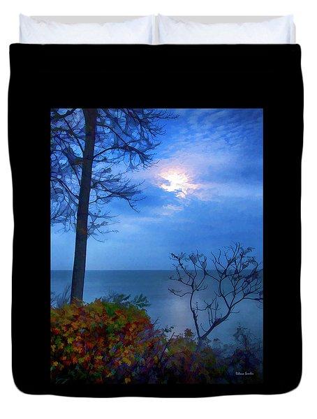 Moonset 1 Duvet Cover
