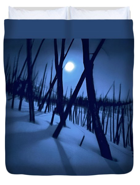 Moonshadows Duvet Cover