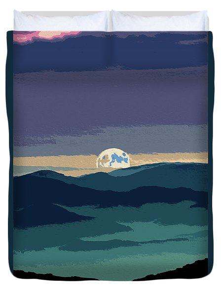 Moonshine Magic Duvet Cover by Andrea Mazzocchetti