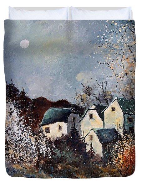 Moonshine  Duvet Cover by Pol Ledent