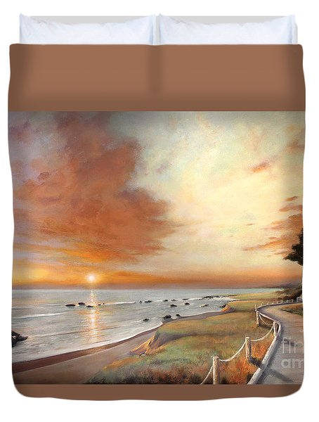 Moonstone Cambria Sunset Duvet Cover