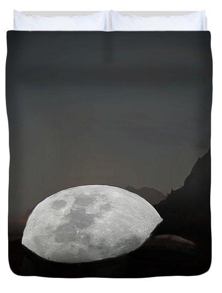 Moontoise Duvet Cover by Keshava Shukla