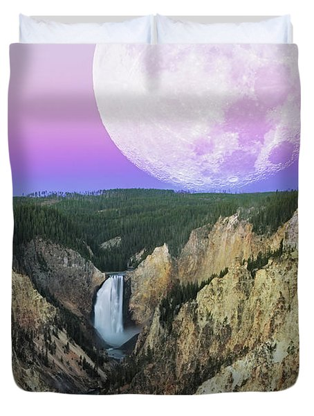 My Purple Dream Duvet Cover