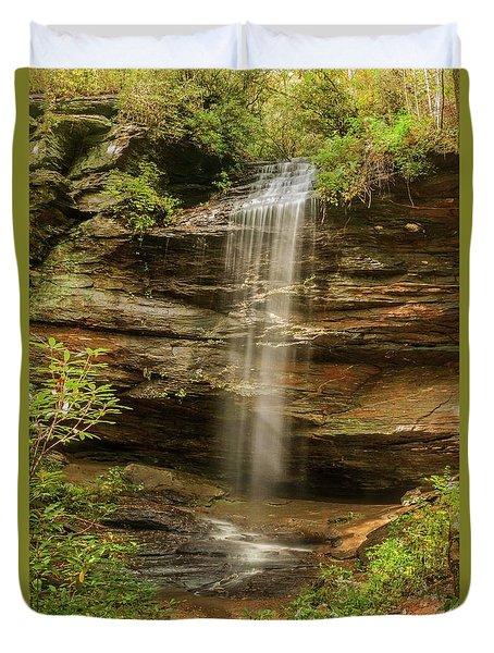 Moore Cove Falls Duvet Cover