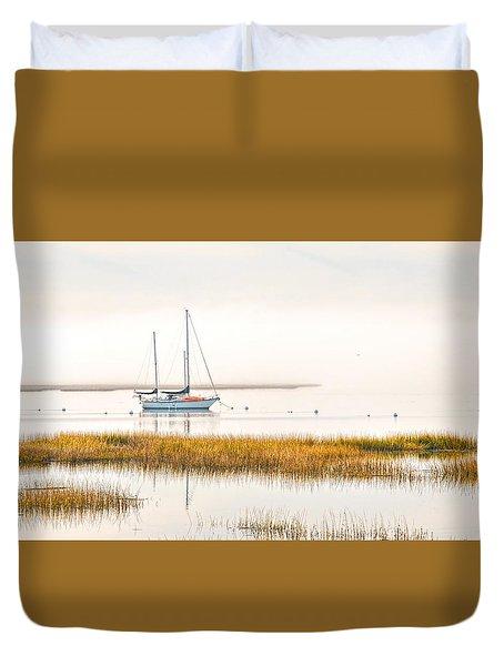 Mooring Line Duvet Cover by Scott Hansen