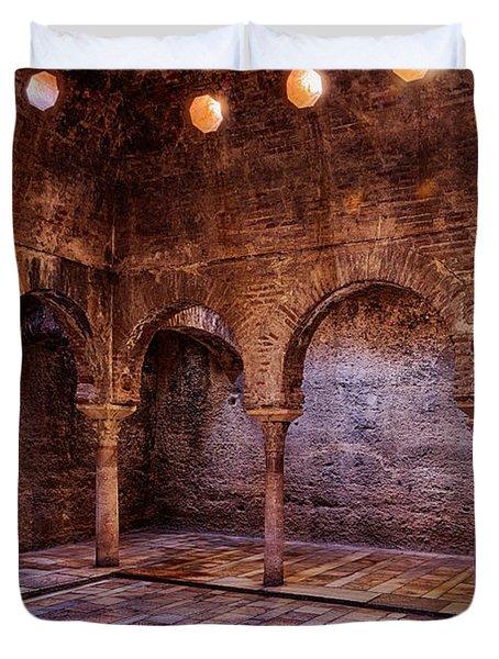 Moorish Baths Granada Duvet Cover