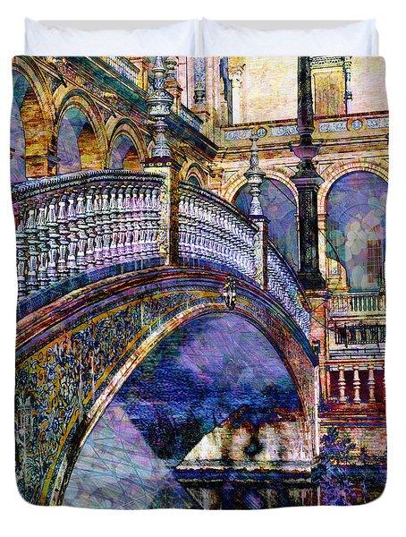 Moorish Bridge Duvet Cover