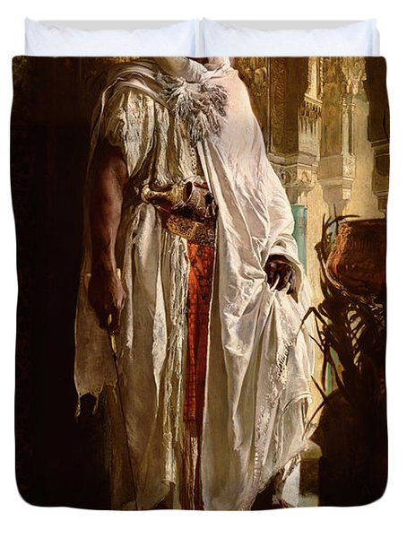Moorish Chief Duvet Cover
