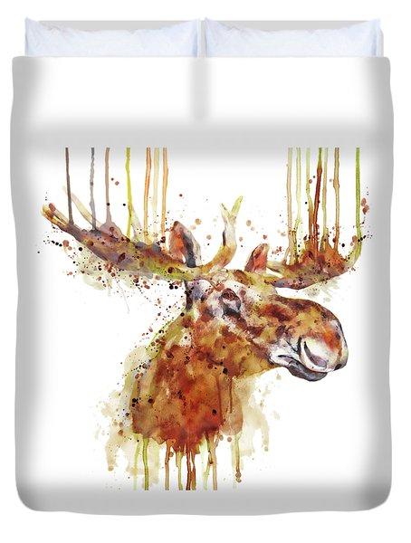 Moose Head Duvet Cover