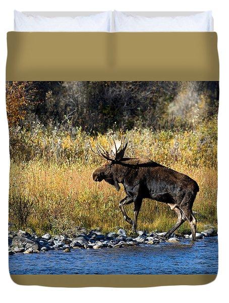 Moose X-ing Duvet Cover