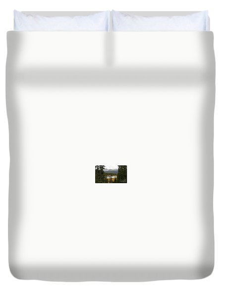 Moosehorn Lake Duvet Cover