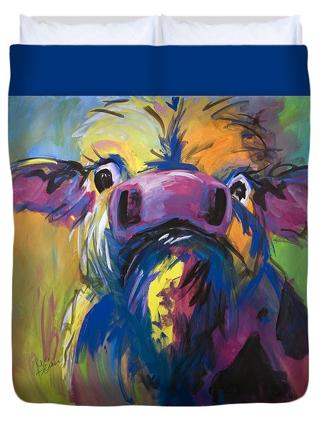Moove Aside Duvet Cover
