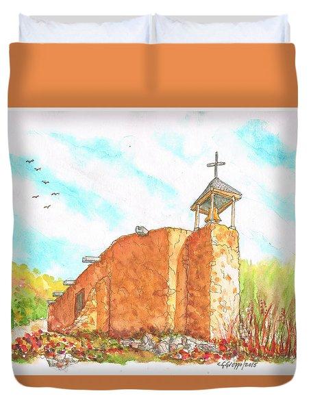 Morada De La Conquistadora Chapel, Santa Fe, New Mexico Duvet Cover