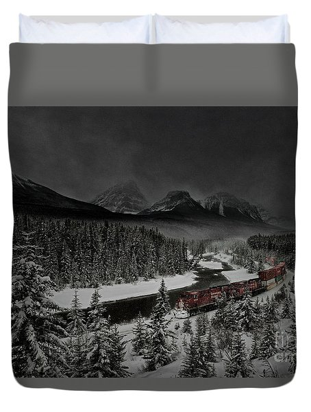 Morant's Curve At Night Duvet Cover