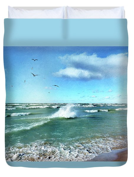 More Beautiful Than Yesterday Duvet Cover