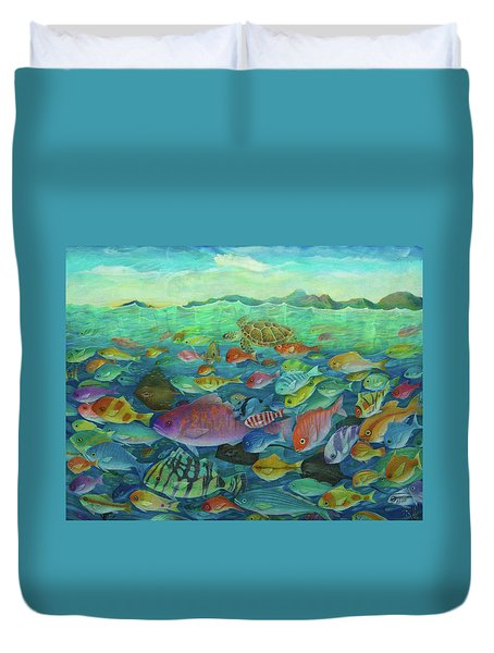 More Fish Duvet Cover