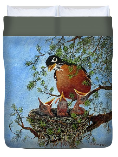 More Food Duvet Cover by Roseann Gilmore