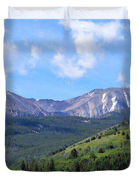 More Montana Mountains Duvet Cover