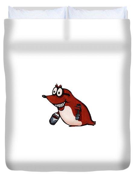 Morecambe Mole Duvet Cover