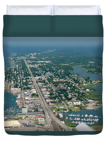 Morehead City Duvet Cover