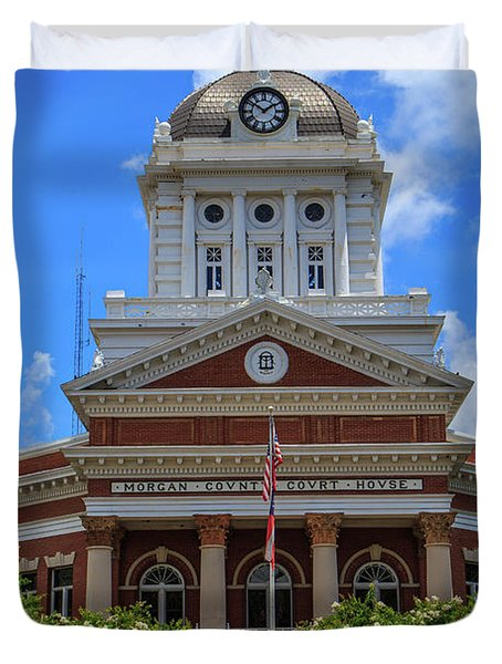 Morgan County Court House Duvet Cover