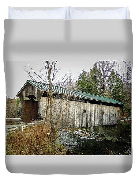 Morgan Covered Bridge Duvet Cover