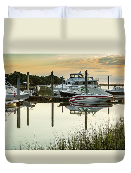 Morgan Creek Duvet Cover