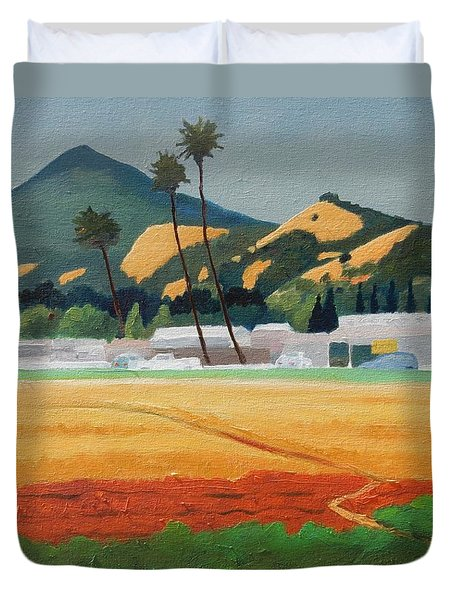 Morgan Hill Icon Duvet Cover by Gary Coleman