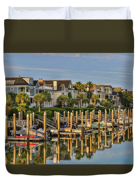 Morgan Place Homes In Wild Dunes Resort Duvet Cover