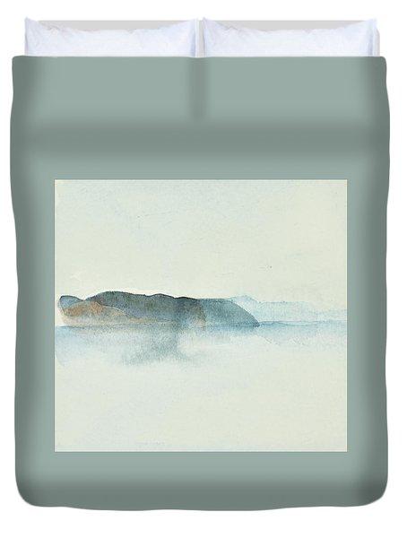 Morgondis Over Kusten - Morning Haze Over The Swedish Westcoast, Hunnebo_1211 Up To 70 X 70 Cm Duvet Cover
