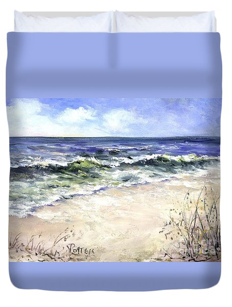 Morning After The Storm Duvet Cover