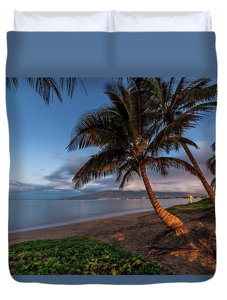 Morning Aloha Duvet Cover