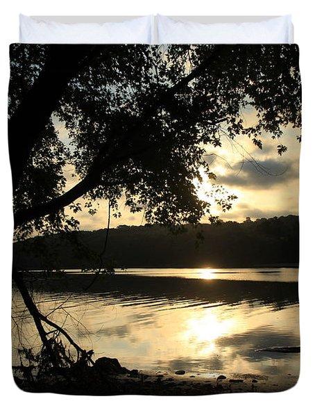 Morning Arises Duvet Cover by Karol Livote