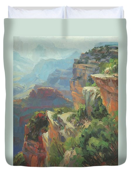 Morning At Hopi Point Duvet Cover